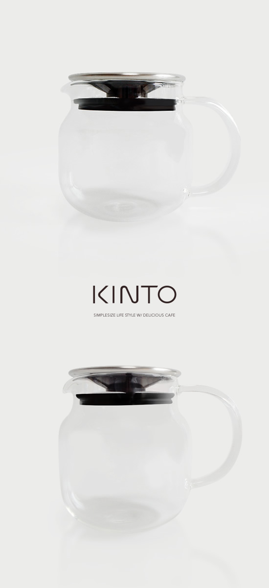 KINTO ティーポット ONE TOUCH - Image