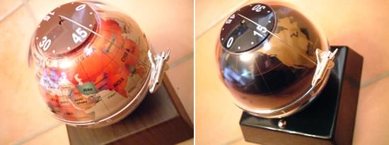 Table Earth Clock - Image
