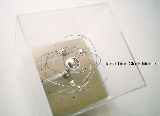 Table Clock Mobile - Image