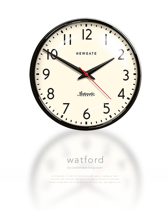 NEW GATE Wall Clock Watford(中間イメージ:1)