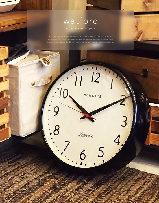 NEW GATE Wall Clock Watford(トップイメージ:1)