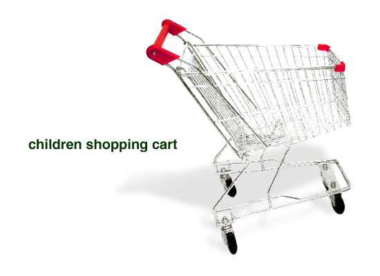 Children Shopping Cart - Image
