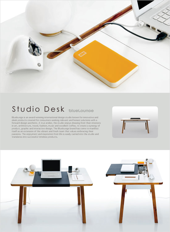 BlueLounge STUDIO-DESK(中間イメージ:1)