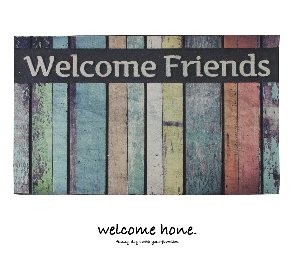 玄関マット WELCOME-HOME - Image
