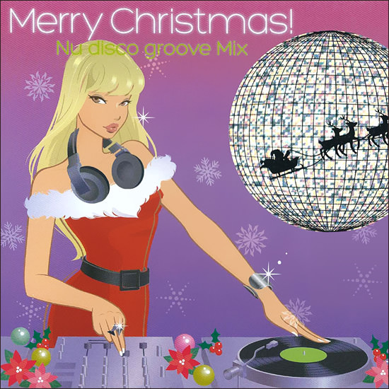 クリスマスCD Merry Christmas - Nu Disco Groove Mix - Image