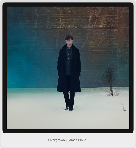 Overgrown - James Blake - Image