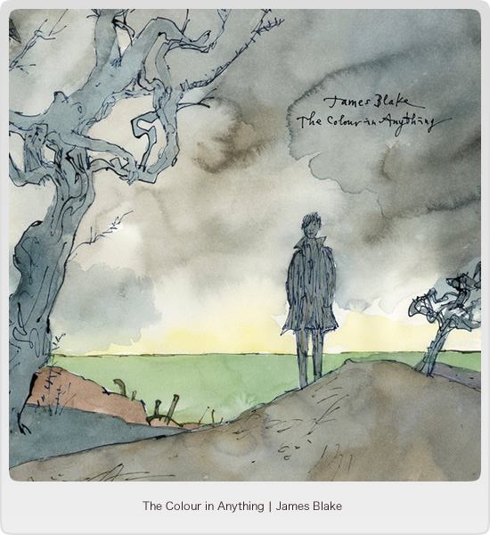 The colour in anything - James Blake(トップイメージ:1)