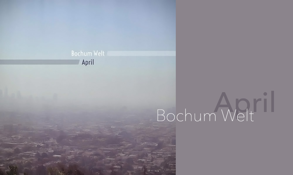 April - Bochum Welt - Image
