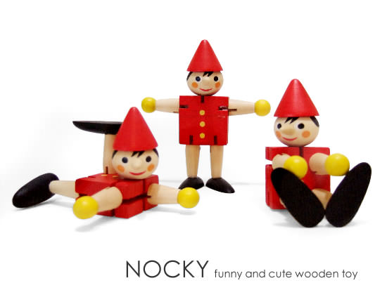 Wooden Toy NOCKY(中間イメージ:1)