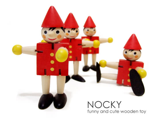 Wooden Toy NOCKY - Image