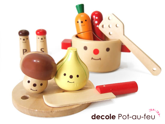 DECOLE cooking set SIMPLESIZE--