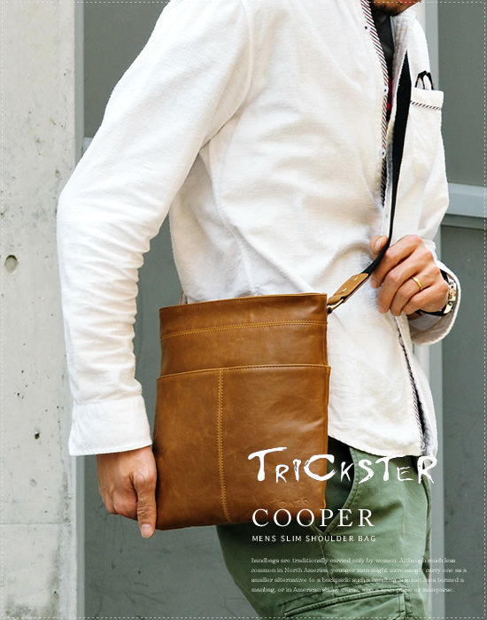 TRICKSTER スリムショルダーバッグ COOPER - Image